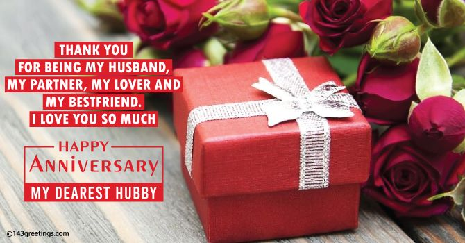 Best Anniversary Wishes Messages For Husband 143 Greetings