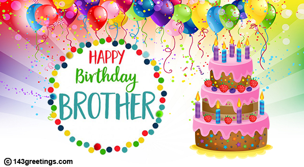 Birthday SMS For Brother