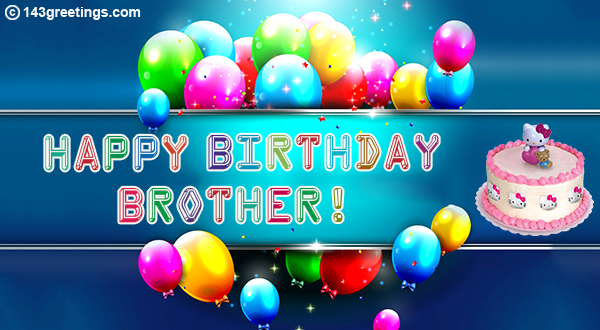 Best Birthday Messages For Brother