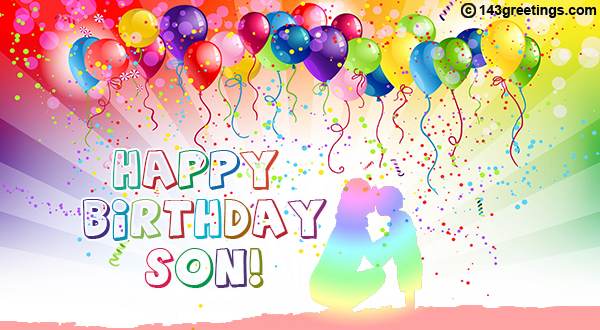 Amazing The Best Happy Birthday Messages For Son 143 Greetings Funny Birthday Cards Online Alyptdamsfinfo