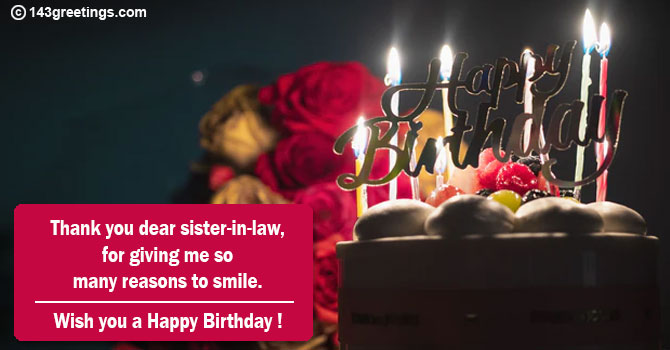 Birthday Wishes Sister In Law Quotes Images 143 Greetings