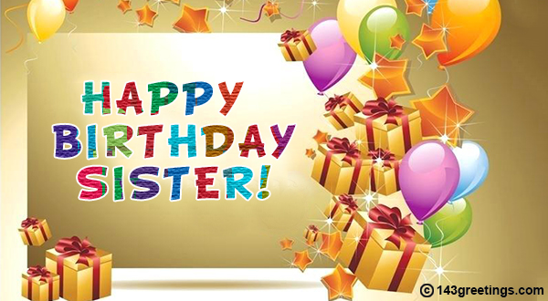 Peachy The Best Birthday Wishes For Sister Messages Sms 143 Greetings Funny Birthday Cards Online Overcheapnameinfo