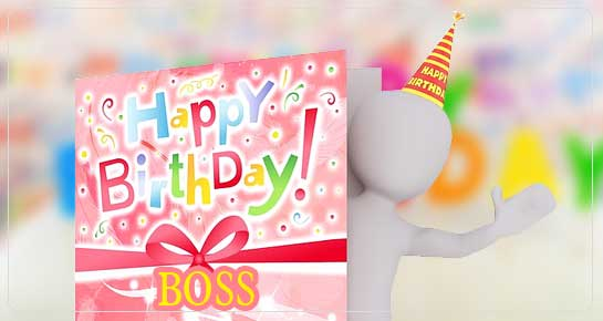 Unique Birthday Wishes For Boss