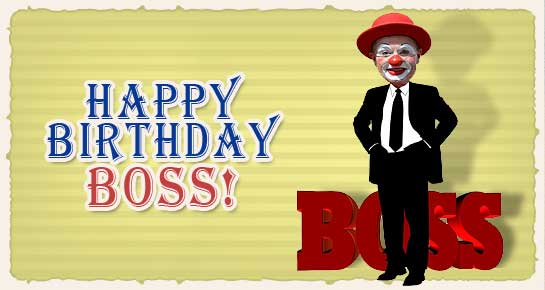 Birthday Messages For Boss