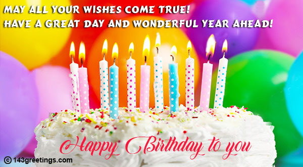 The Best Birthday Wishes Messages Quotes