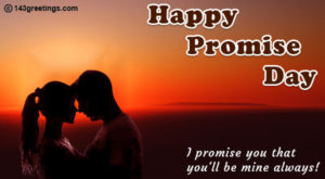 promise day card