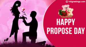 romantic Propose day card