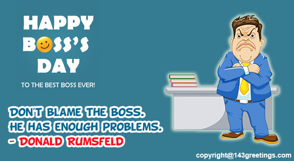 Boss Day SMS