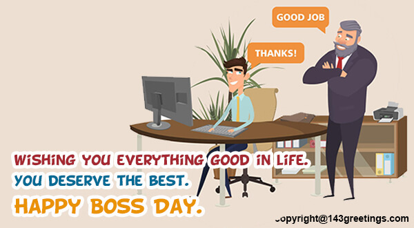 Bosss day messages 2018 best bosss day wishes 143 greetings best boss day messages m4hsunfo