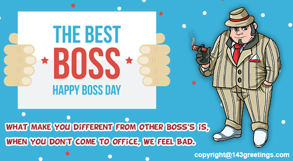 Bosss day messages 2018 best bosss day wishes 143 greetings best boss day wishes m4hsunfo