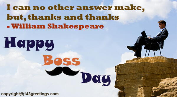 Bosss day messages 2018 best bosss day wishes 143 greetings famous boss day quotes m4hsunfo