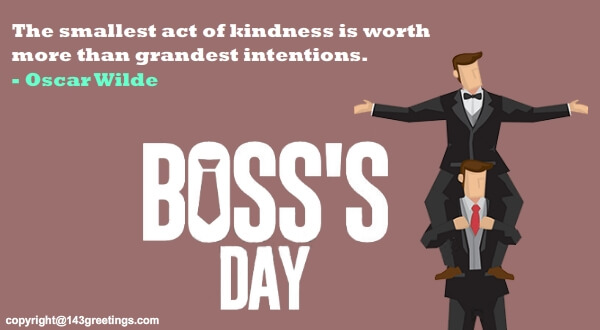 Top Boss Day Messages