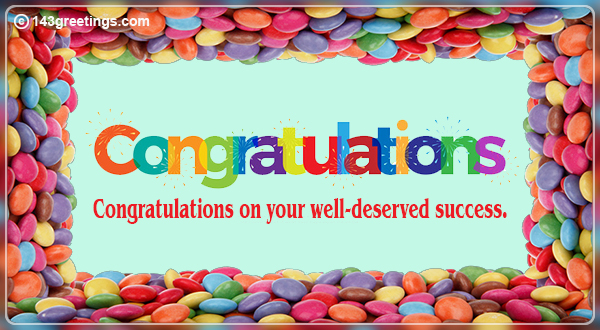 Congratulations Messages: Best Congratulations Wishes