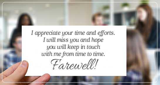 Free Farewell Cards, Greetings & eCards | 143 Greetings