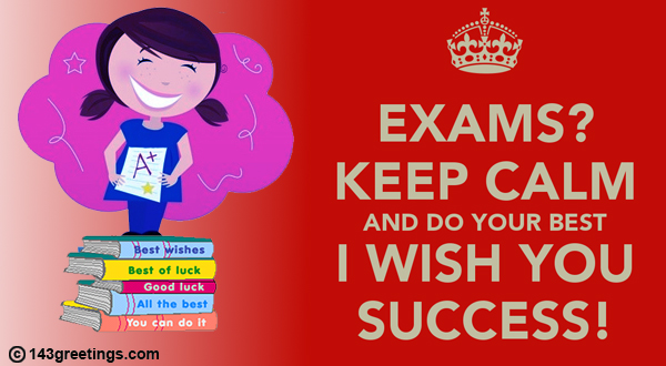 The best good luck messages for exams 143 greetings good luck messages for exam m4hsunfo