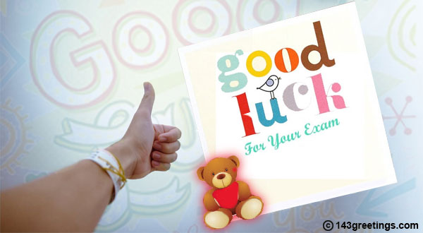 top good luck messages for exams