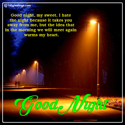Good Night Messages: Best Wishes for Good Night | 143 Greetings
