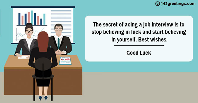 Best Wishes For Promotion Interview To Boss