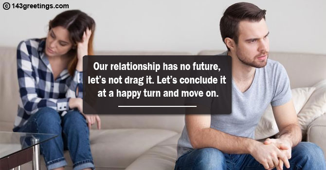 Breakup Messages for Wife