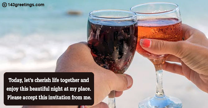 Get Together Party Invitation Message