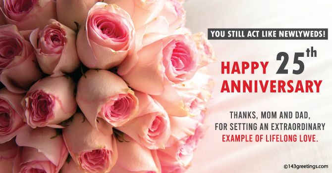 Best Anniversary Wishes Messages For Parents 143 Greetings