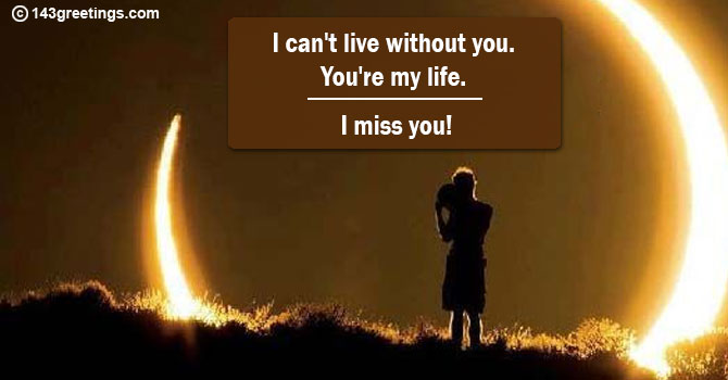 Missing sms you am i I Miss