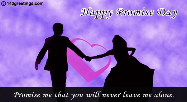 Promise Day Messages on Valentine
