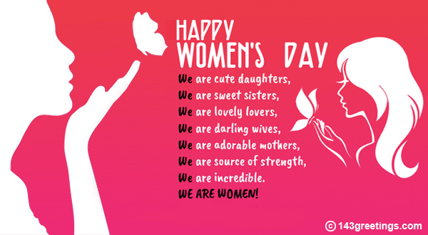 Womens Day Messages Best Wishes For Womens Day 143 Greetings