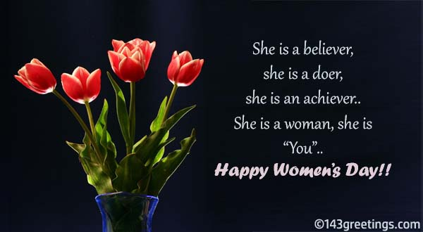 Women's Day Messages: Best Wishes for Women's Day – 143 Greetings